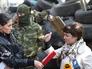 """Задержанная лидер """"женской сотни"""" Майдана Ирма Крат"""