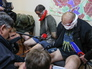 Офицеры спецназа СБУ, захваченные народными ополченцами Донецкой области