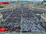 Церемония канонизации понтификов в Ватикане