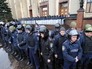 Акция в поддержку проведения референдума в Харькове