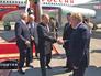 Владимир Путин прибыл в Минск