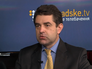 Директор департамента информационной политики МИД Украины Евгений Перебийнис