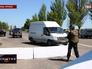 Блокпост на въезде в Донецк