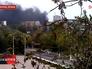 Дым в центре Мариуполя