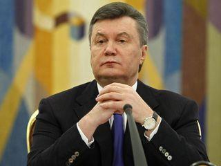 Удар властью. Виктор Янукович
