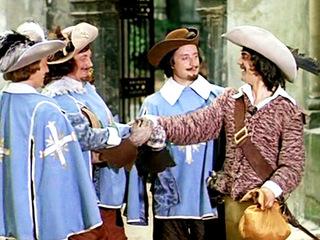 Д'Артаньян и три мушкетёра