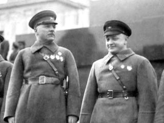 Анонс Ворошилов против Тухачевского