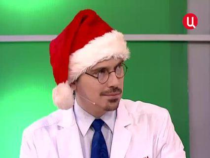 """""""Врачи"""". Ток-шоу. Эфир от 24.12.2012 (00:16:06)"""