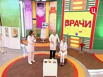 """""""Врачи"""". Ток-шоу. Эфир от 18.06.2012 (00:31:34)"""