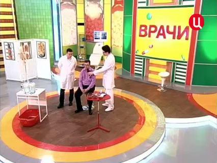 """""""Врачи"""". Ток-шоу. Эфир от 31.05.2012 (00:19:52)"""