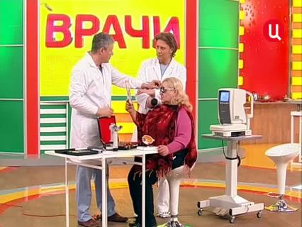 """""""Врачи"""". Ток-шоу. Эфир от 22.03.2012 (00:22:01)"""