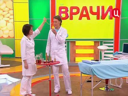 """""""Врачи"""". Ток-шоу. Эфир от 06.04.2012 (00:27:11)"""