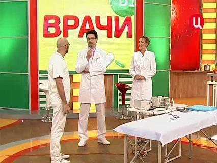 """""""Врачи"""". Ток-шоу. Эфир от 23.04.2012 (00:14:27)"""