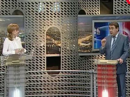 """""""Народ хочет знать"""". Ток-шоу. Эфир от 03.10.2011 (00:29:44)"""