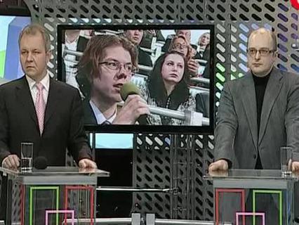 """""""Народ хочет знать"""". Ток-шоу. Эфир от 12.03.2012 (00:26:06)"""