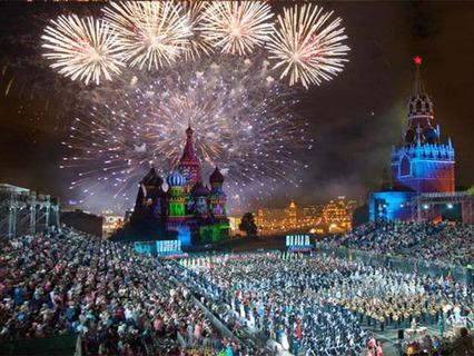 """""""Спасская башня"""". Фестиваль военных оркестров на Красной площади"""