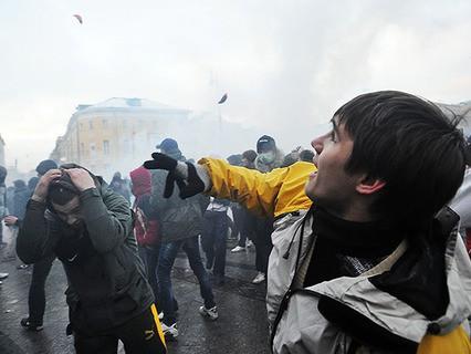 Потасовка в Москве