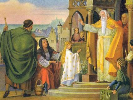 """Великие праздники. Анонс. """"Введение во храм Пресвятой Богородицы"""""""