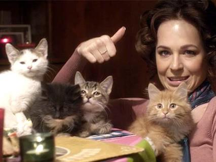 """Кадр из фильма """"Отдам котят в хорошие руки"""""""