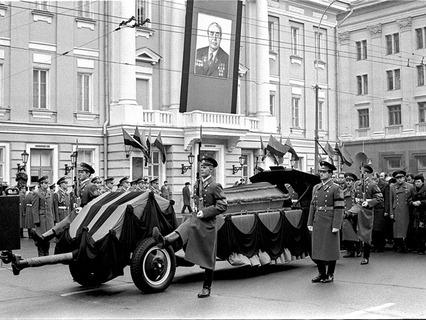 Похороны Леонида Брежнева