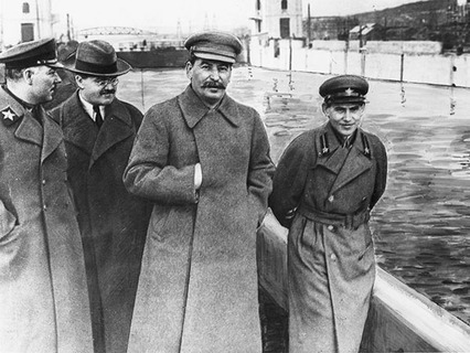 Иосиф Сталин и его сподвижники