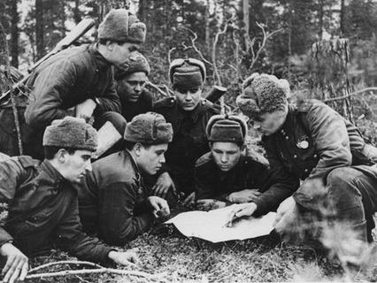 Военные разведчики в годы Великой Отечественной войны