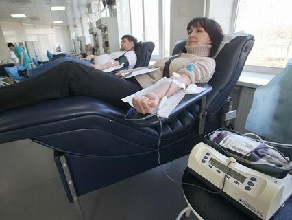 Донорская сдача крови
