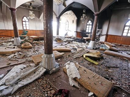 Теракт в мечети