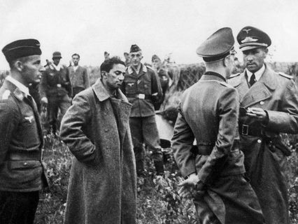 Яков Джугашвили в плену у немцев