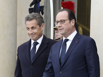 Николя Саркози и Франсуа Олланд