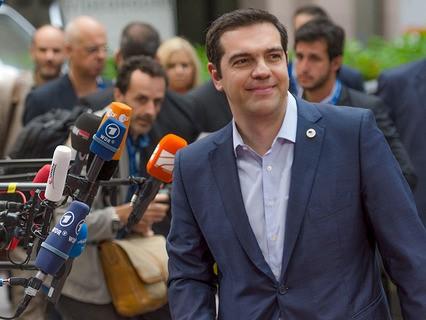 Греческий премьер-министр Алексис Ципрас