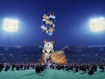 Олимпиада в Москве. 1980 год