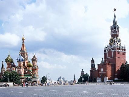 Спасская башня и Храм Василия Блаженного