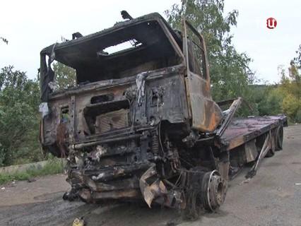 Последствия крупного ДТП в Челябинской области