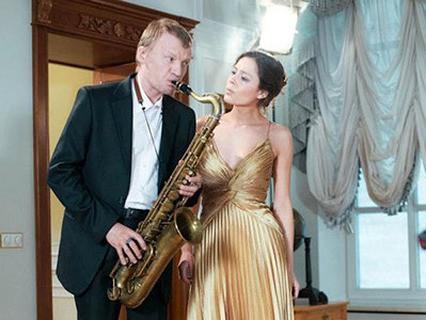 Соло на саксофоне
