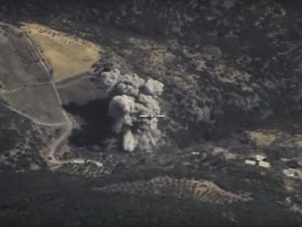 Авиаудары российских ВКС по позициям ИГИЛ в Сирии