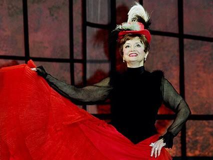 Татьяна Шмыга на сцене Театра оперетты