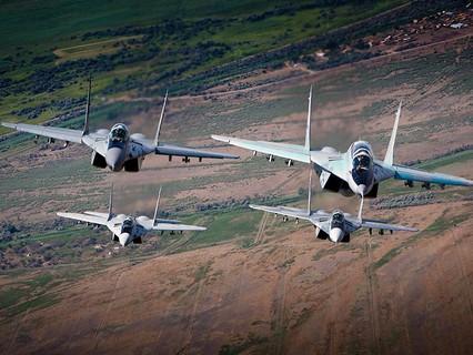 Истребители МиГ-29 ВКС России