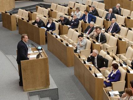 Игорь Шувалов выступил в Госдуме
