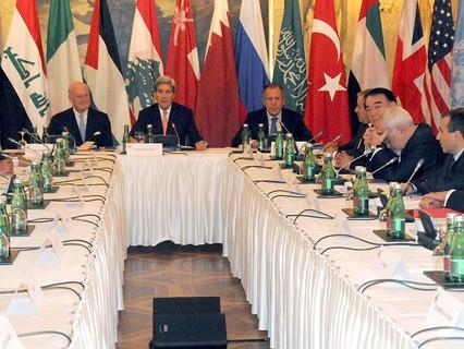 Встреча участников многосторонней встречи по сирийскому урегулированию