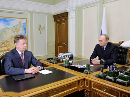 Максим Соколов на встрече с Владимиром Путиным