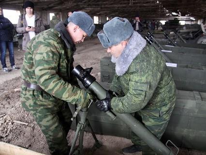 Отвод вооружений ДНР от линии соприкосновения