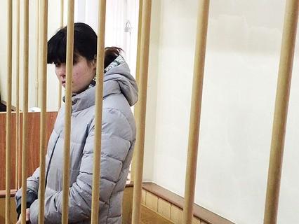 Варвара Караулова на заседании суда