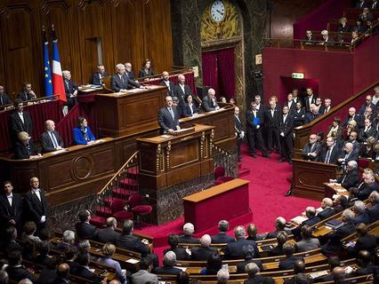 Франсуа Олланд выступил в парламенте