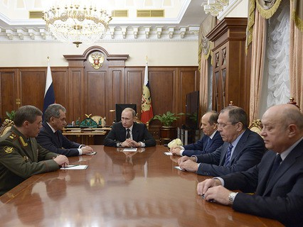 Владимир Путин на совещании об итогах расследования причин крушения A321