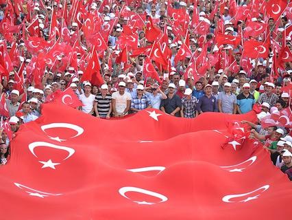 Турки на марше против терроризма