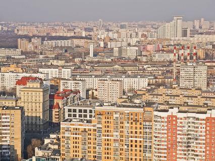 Москва с высоты птичьего полёта
