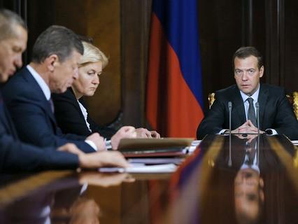 Дмитрий Медведев на совещании по долговой нагрузке на региональные бюджеты