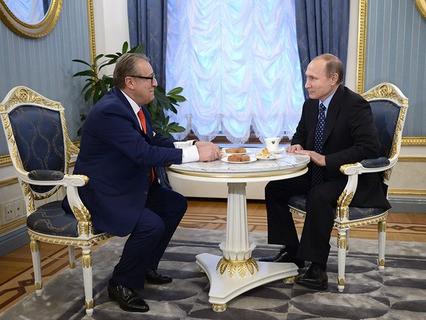 Владимир Путин поздравил Геннадия Хазанова с 70-летним юбилеем