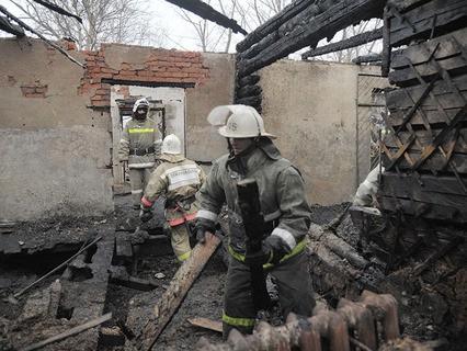 Последствия пожара в психоневрологическом интернате в Воронежской области